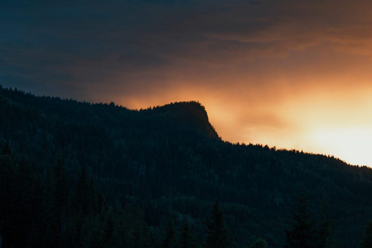 Norwegian mountain.