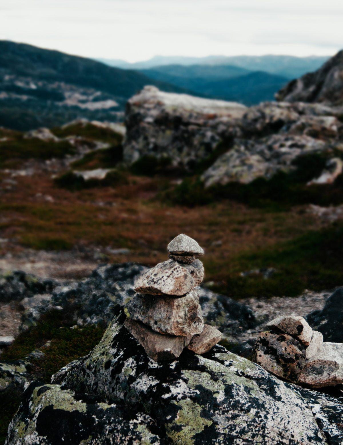 Stacked Stones, Røldal, Norway