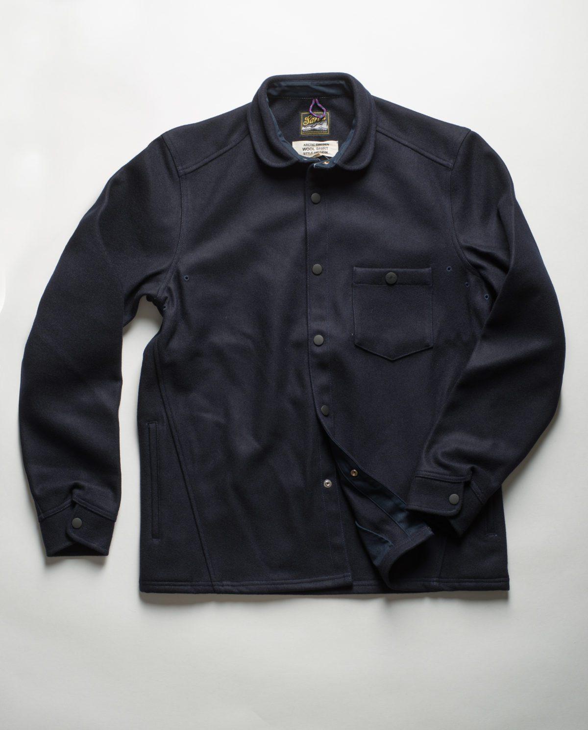 Sarva Arctic wool shirt
