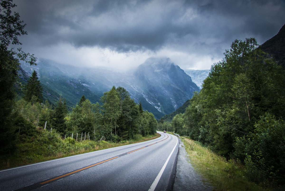 Roadtrip i Norge, 2018.