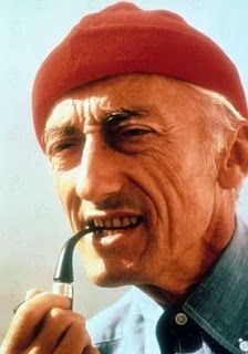 Jaques Cousteau, inspiration for red hatters