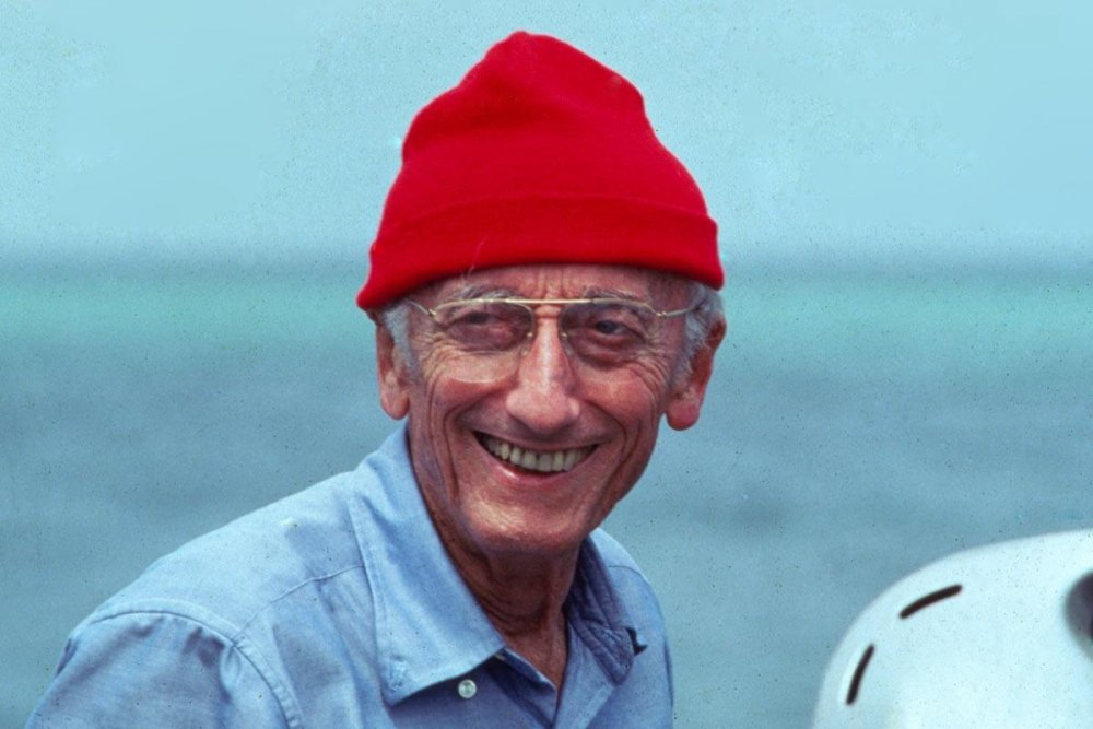 Jaques Cousteau, inspiration for Steve Zissou