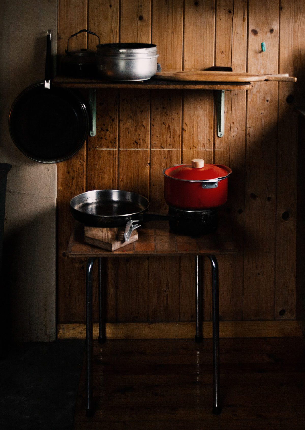 Casseroles in Norwegian Cabin