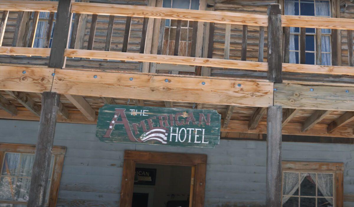 The American Hotel at Cerro Gordo.