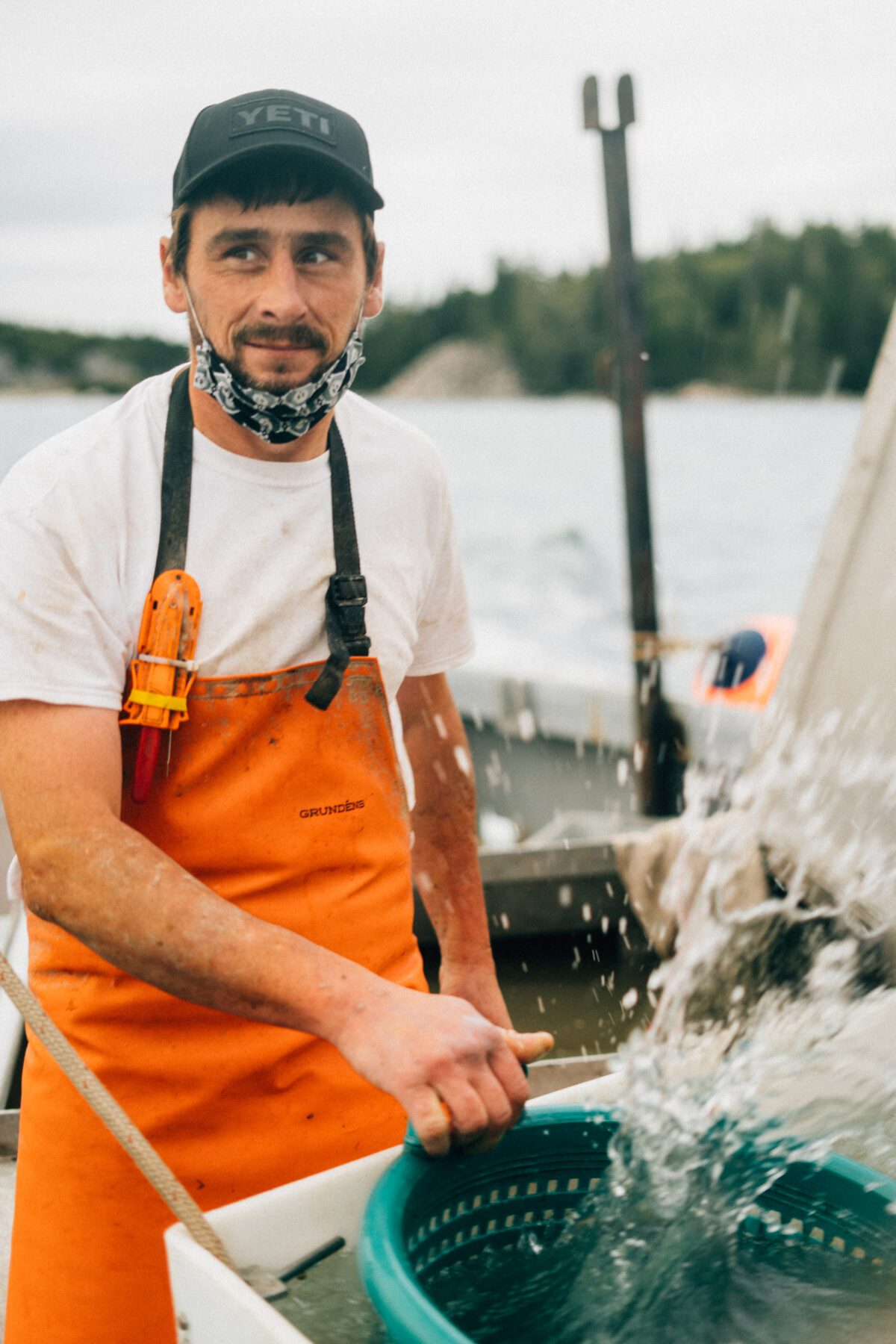 Bob Brewer, scallop farmer