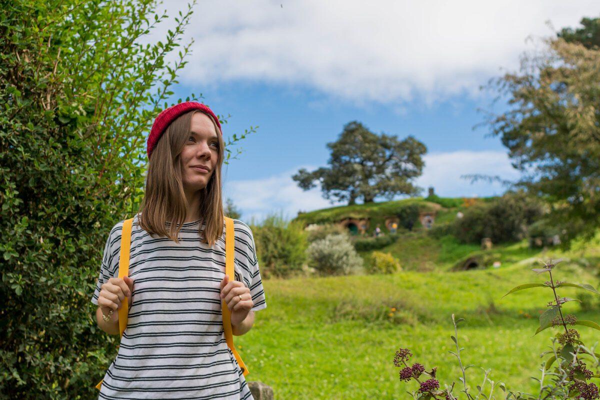 Hobbit holes in New Zealand.